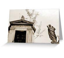 Angel La Recoleta  Greeting Card