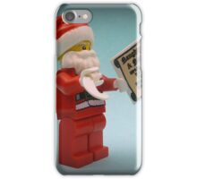 He's Making A List iPhone Case/Skin
