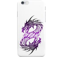Dragon head 2 - White iPhone Case/Skin
