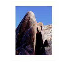 Cataract Gorge Rocks 1O Art Print