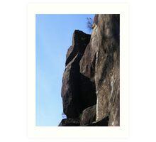 Cataract Gorge Rocks 1P Art Print