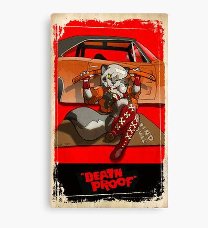 """death proof"" Canvas Print"