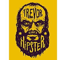 Hipster Trevor Photographic Print