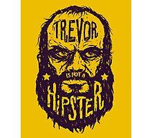 Hipster Trevor Photographic Print