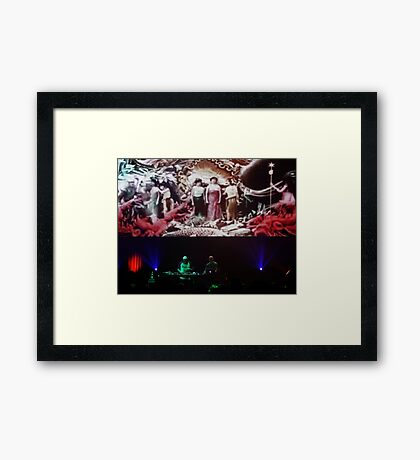 The Orb Framed Print