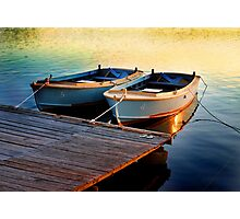Two Boats Photographic Print