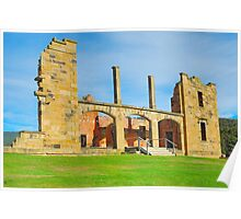 Gone But Not Forgotten - Port Arthur Historic Site , Tasmania Poster