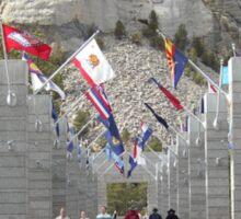 Mount Rushmore Sticker