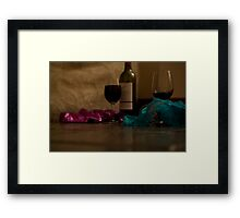 Things aren't always as they seem... Framed Print