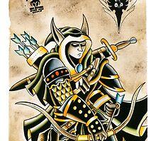 Elven Archer by BonyHomi
