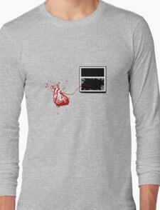 Broken Heart Theory (After Banksy) Long Sleeve T-Shirt