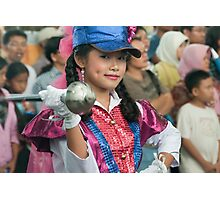 Marching Girl Photographic Print