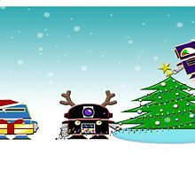 bit.bots HOLIDAY by 01Graphics