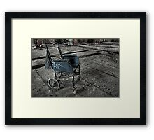 Wheelchair Framed Print