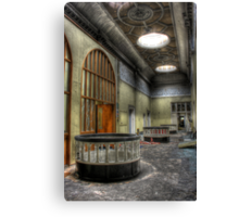 Grand Hallway Canvas Print
