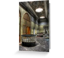 Grand Hallway Greeting Card