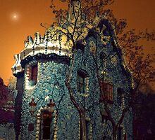 GAUDI BUILDING BARCELONA by leonie7