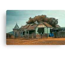 House On The Track Canvas Print