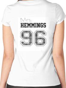 Mrs. Hemmings 96 white Women's Fitted Scoop T-Shirt