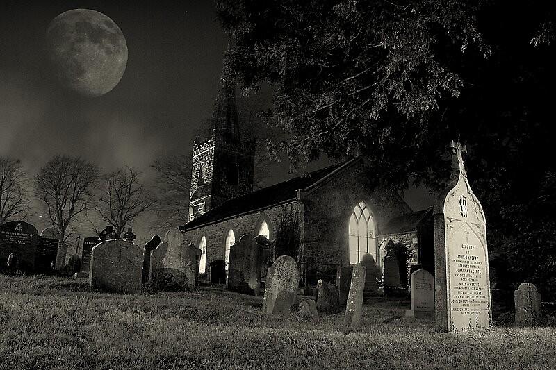 A Grave Yard by Richard Scott