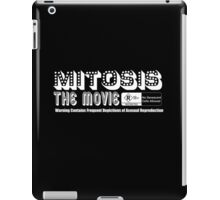 Mitosis the Movie - Rated R (white text) iPad Case/Skin