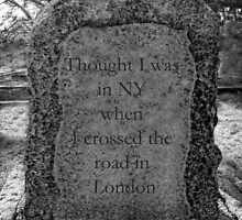 © Original Tombstone Sayings by BritishYank