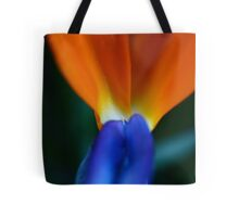 Semi Abstract Flower Tote Bag