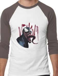 The Venom Symbiote - Spider-Man Men's Baseball ¾ T-Shirt