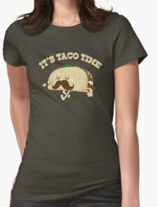 Taco Time! Womens Fitted T-Shirt