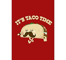 Taco Time! Photographic Print