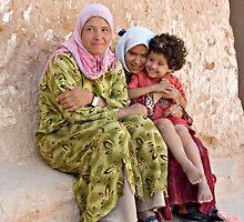 Berber Famely by PhotoGemsUK