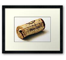 Cork 2 Framed Print