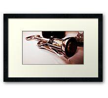 Cork Pull Framed Print