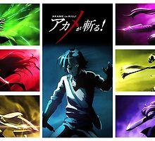 Akame ga Kill! Night Raid [Tatsumi Center] by Jonathan Masvidal