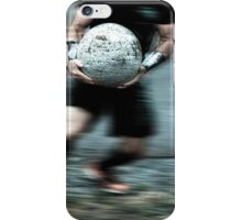 Man Ball  iPhone Case/Skin