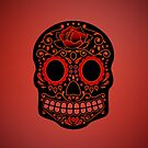 iPhone Art - sugar skull 2 by fenjay