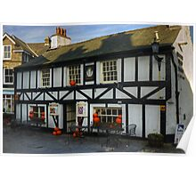 The Queen's Head, Hawkshead Poster