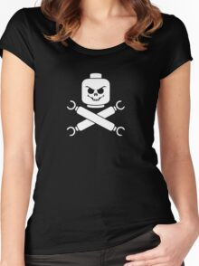 Plastic Pirate Women's Fitted Scoop T-Shirt