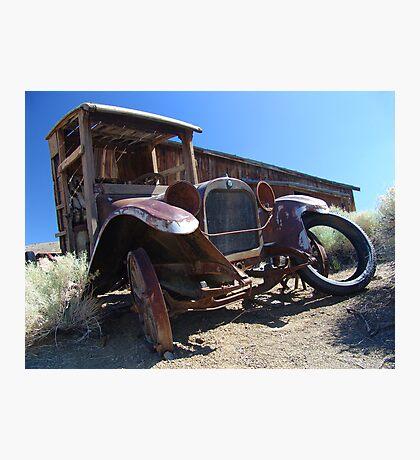 Sagebrush and Rust Photographic Print