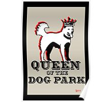 Queen of the Dog Park  Poster