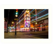 Christmas in London Art Print