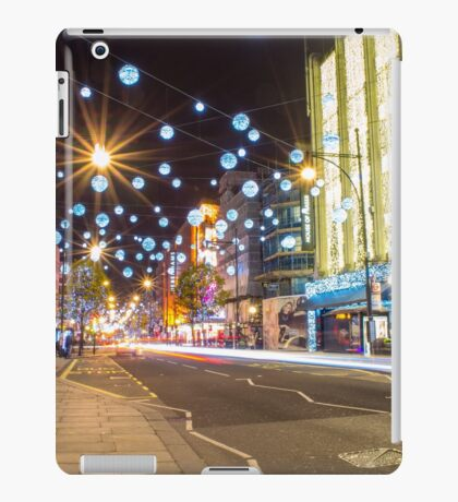 Christmas in Oxford Street iPad Case/Skin