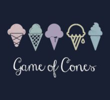 Game Of Cones Kids Tee