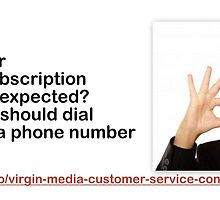 Virgin Media Number-Dial it to get answers for all your queries in real time by louisbennetts