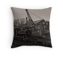 Old Relics Throw Pillow