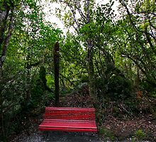 Places to sit 2 by Peter Harrison