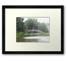 Mill Creek Park Framed Print