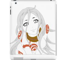 Shiro (Bold and Colored) iPad Case/Skin