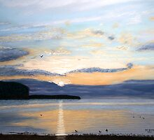 Eileen's Sunset by GeorgeBurr