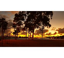 Sunset in Perth Photographic Print